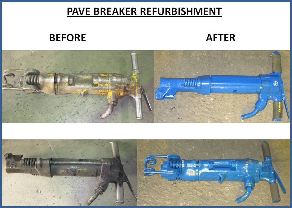 PAVE BREAKER REFURBISHMENT