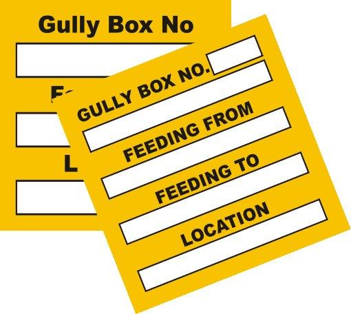BMS Gully Box Stickers