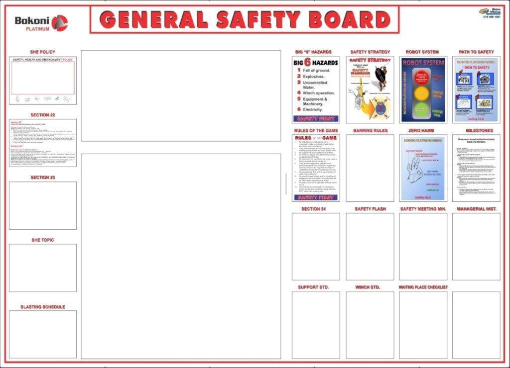Signs -  - General Safety Board