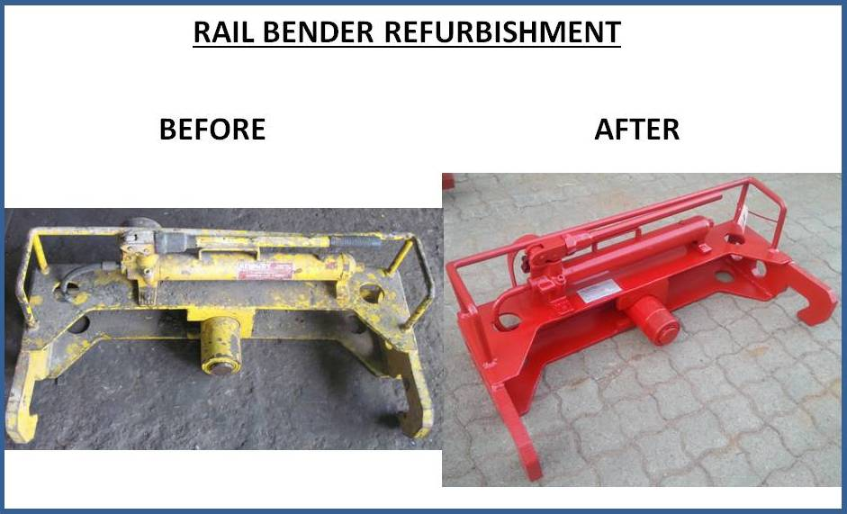 RAIL BENDER REFURBISHMENT
